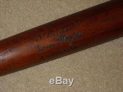 Kid Elberfeld Spalding Vintage Baseball Bat New York Highlanders