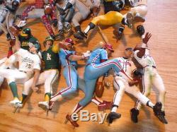 LOT of 55 McFarlane 6 MLB Loose Baseball Action Figures Stands Bats Balls Vtg