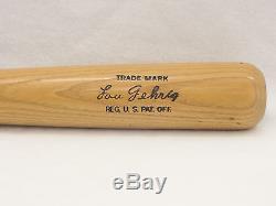 LOUISVILLE SLUGGER Lou Gehrig Vintage baseball bat Limited Edition Made in USA