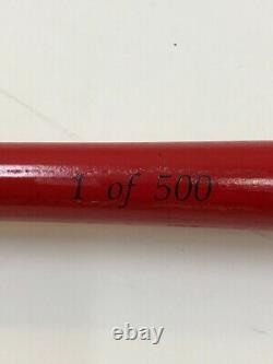 Limited Edition Winchester Ammunition Super X Wooden Baseball Bat 1 of 500