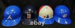 Lot of 15 Vtg Major League Baseball Full Size Batting Helmets Laich Man Cave MLB