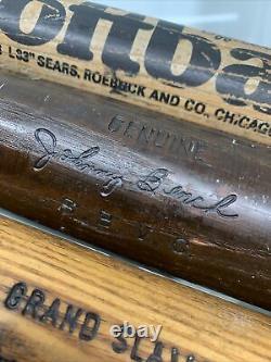 Lot of 4 Vintage Wood Baseball Bats Louisville Sluggers, Softball, Hardwood