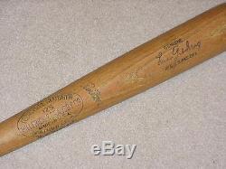 Lou Gehrig H&B 125 Vintage Baseball Bat New York Yankees HOF