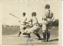 Lou Gehrig Vintage Baseball Wire Photo 1929 Batting Action