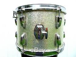 Ludwig Drums Vintage 1968 Silver Sparkle Tom 9x13 3ply Baseball Bat Muffler