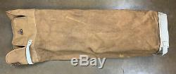 Macgregor Brunswick Bat Bag Equipment Kit Vtg Canvas 50s Baseball Duffle USA