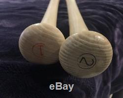 Mickey Mantle Roger Maris Vintage Adirondack Model Baseball Bats Unused 1963-67