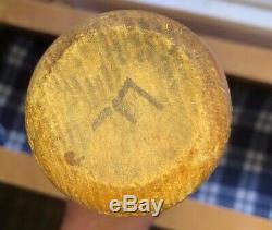 Miller James Huggins Spalding Signature Wood Baseball Bat Hof 1908-1916 Vintage
