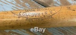 NICE Vtg 50s GEORGE BABE RUTH 35 Wood 32.5 oz Baseball Bat HOF Yankees RARE