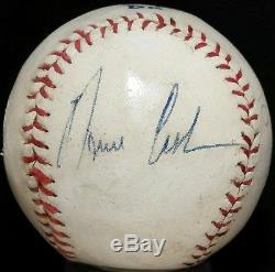 4d2c3a906c0 Norm Cash Signed Baseball Auto Vtg 1968 World Series Detroit Tigers Team  Member