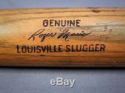 Nice Vintage 35 1960s Roger Maris Hillerich & Bradsby 125 Baseball Bat -Yankees