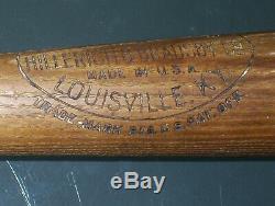 Old Vintage Kiki Cuyler Hillerich & Bradsby 40 H. C. Baseball Bat Chicago Cubs