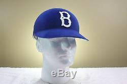Original Style BROOKLYN DODGERS Vintage ABC Game Baseball Batting helmet 1950s