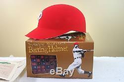 Original Style PHILADELPHIA PHILLIES Vintage ABC Game Baseball Batting helmet