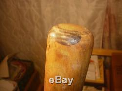 R. G. Hower 1930'S vintage wood baseball bat LEWISTOWN-1-SLUG-UM Penna