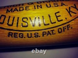 RARE 1950's MICKEY MANTLE Bat 34 Old Vintage Louisville Slugger 125 NY YANKEE