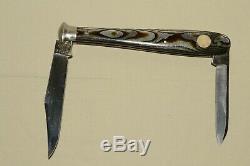 RARE Antique/Vtg JAEGER BROS Aerial Marinette OFFICIAL LEAGUE BASEBALL BAT KNIFE