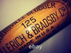 RARE RARE Old LOU GEHRIG Bat 35 SUPERIOR Vintage Louisville Slugger 125 YANKEES