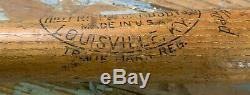RARE Vtg 40s JOE DUCKY MEDWICK Hillerich Bradsby 125 DM 35 37oz Baseball Bat