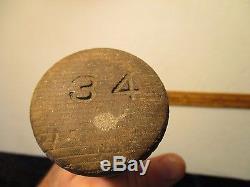 RARE Vtg/Antique ED MAYNARD BASEBALL Bat-Pre Draper Maynard, Plymouth, N. H
