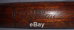 -Rare- 1900 -Pennant- Vintage No. 559 Bottle/Mushroom Knob Wood Baseball Bat