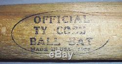-Rare- 1909 -TY Cobb- Vintage Detroit Tigers Antique Baseball Bat