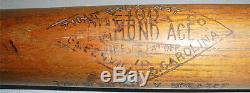 -Rare- 1920's -Tris Seaker- Vintage HOF Zinn Beck Game-Used Baseball Bat withLOA