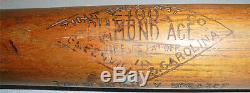 -Rare- 1920's -Tris Speaker- Vintage HOF Zinn Beck Game-Used Baseball Bat withLOA