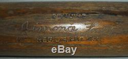 -Rare- 1940's -Jimmie Foxx- Vintage Red Sox HOF Game Used F3 Baseball Bat withLOA