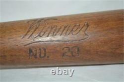 Rare Antique Winner Regulation #20 Vintage Baseball Bat 1920s Info Needed Thanks