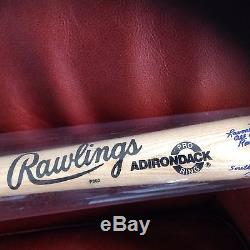 Rare Authentic Vintage Rockford Peaches Pennant(amazing Condition)signed Bat