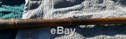 Rare Vintage Antique Black Betsy Baseball Bat Spalding 105 Shoeless Joe Jackson