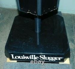 Rare Vintage Louisville Slugger Baseball Bat store Display Rack For 72 Bats
