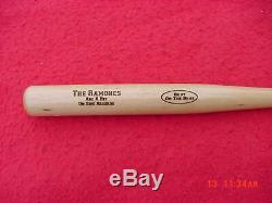 Rare Vintage Ramones Promo Beat On The Brat Sire Records Mini Baseball Bat
