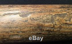 Rare Vtg 30s 40s Hank Greenberg 35 Hillerich Bradsby 40HG H&B Baseball Bat HOF
