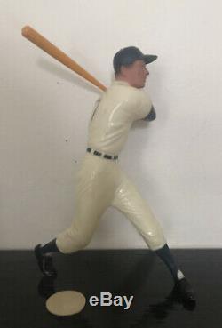 Rocky Colavito Hartland vintage statue. Original bat and toe plate. 1960s RARE