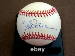 Rod Carew Hof Batting Champ Twins Angels Signed Auto Vintage Oal Baseball Jsa