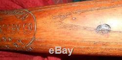 Rogers Hornsby H&B Louisville Slugger Vintage Baseball Bat Cardinals Browns 40RH