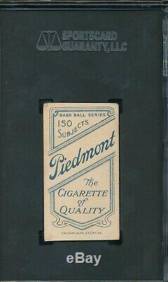SGC AUTHENTIC T206 WILLIE KEELER HOF withBAT VINTAGE 1909 PIEDMONT CARD GENUINE