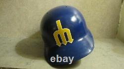 Seattle Mariners Vintage ABC batting helmet TRIDENT Left Ear Coverage