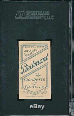 Sgc 6 Ex-mt T206 Chief Meyers Batting 1910 Piedmont Cigs Graded Vintage T-card