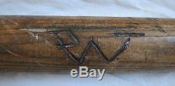 Spalding Gold Medal Autograph Model Frank Chance Baseball Bat Vtg Old Antique