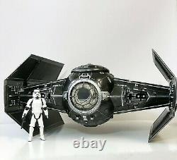 Star Wars Vintage Sith Empire Tie Fighter Interceptor Black Series Mandalorian