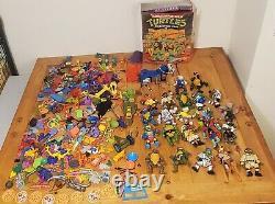 TMNT Teenage Mutant Ninja Turtles Accessory + Figures Toy Lot! Vintage