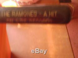 The Ramones Vintage Louisville Slugger Baseball Bat Ultra Rare