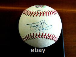 Todd Helton Batting Champ Rockies Signed Auto Vtg L/e Baseball Hidden Authentic