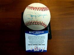 Tony Gwynn 8 X Batting Champ Padres Hof Early Signed Auto Vtg Onl Baseball Bas
