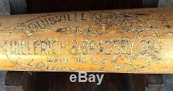 Vintage Hillerich Bradsby Co Louisville Slugger Babe Ruth 32 Baseball Bat 40brj
