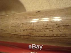 Vintage Joe Ducky Medwick Model Baseball Bat Leader Very Rare Special Us Army