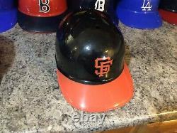 VINTAGE LOT OF 28 LAICH MLB Plastic Baseball Batting Helmets Full Size 1969
